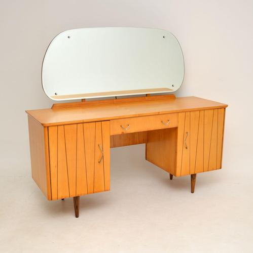 Vintage Satinwood Dressing Table (1 of 9)