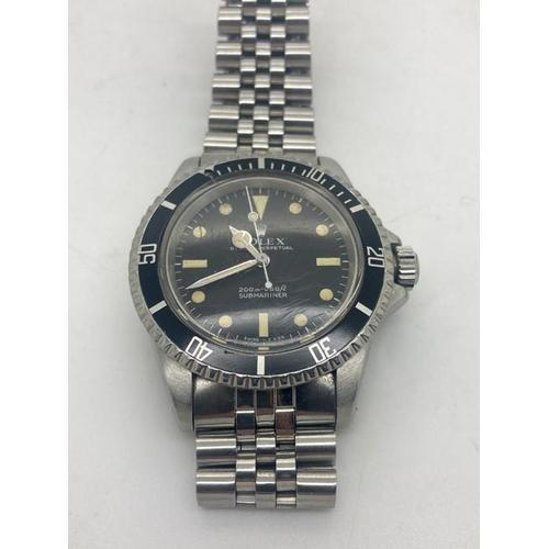Gentleman's Rolex Oyster Perpetual Submariner Stainless Steel Automatic Wrist Watch (1 of 9)