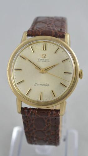 1965 Omega Seamaster 9K Gold Wristwatch (1 of 6)