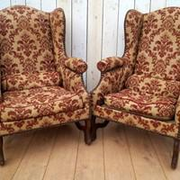Pair of Chairs for re-upholstery (1 of 12)