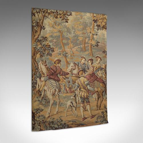 Antique Verdure Tapestry, French, Decorative Panel, Wall Covering, Victorian (1 of 12)