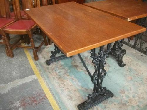 Rectangular Pub Style Table (1 of 2)