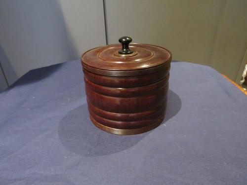 1860 Tobacco Box in Lignum Vitae (1 of 7)