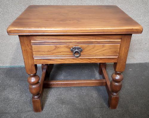 Light Oak Coffee / Side Table (1 of 8)