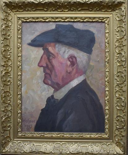 Attributed to Otto Hofner Oil Painting 1915 (1 of 8)