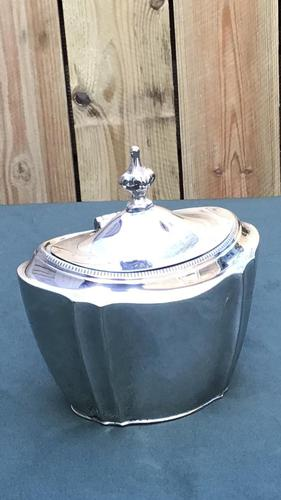 Victorian Silver Plate Tea Caddy  by Thomas Wilkinson &Son (1 of 5)