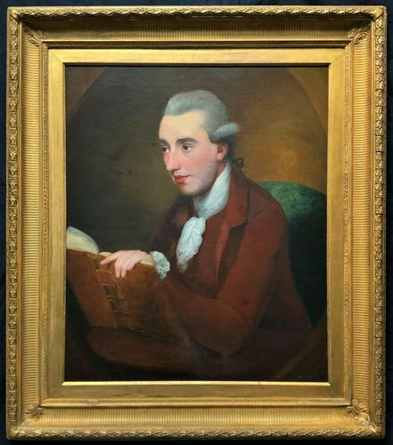 Circle: George Romney Exceptional large 18thc Portrait Oil Painting (1 of 13)