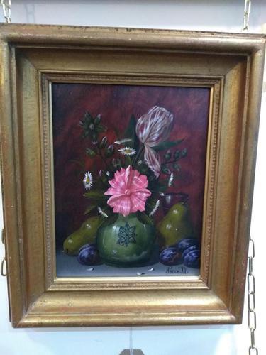 M Pincon Flowers, Fruit & Vase Still Life (1 of 7)