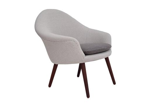 Danish Design, Hans Olsen, Completely Renovated-reupholstered Armchair 1960s, KVADRAT Wool & Teak (1 of 14)