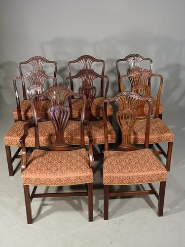 Good Set of 8 '6+2' Mahogany Framed Chairs by Marsh, Jones & Cribb (1 of 9)