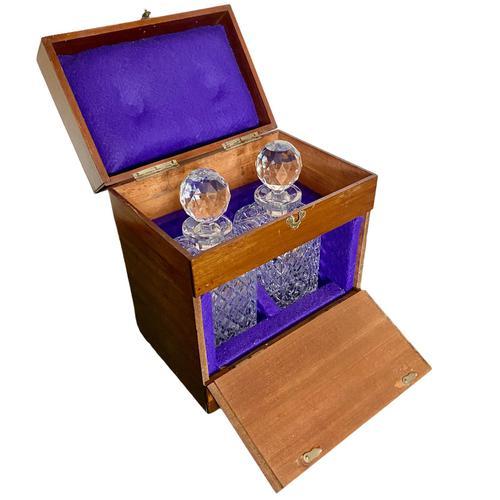 Victorian Mahogany Decanter Box (1 of 7)