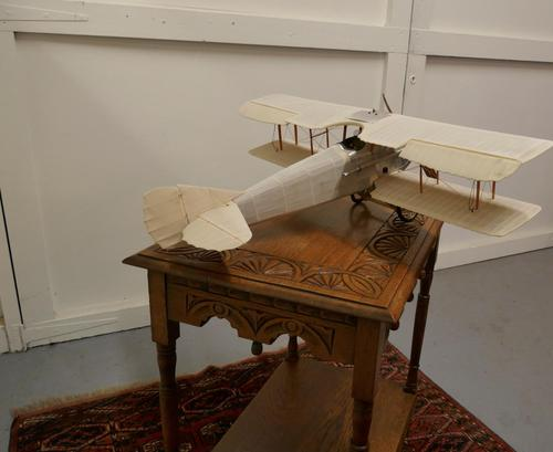 Model of a French WW1 Biplane in Wood (1 of 12)