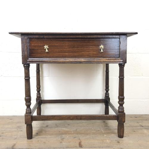 Antique English Side Table (1 of 10)