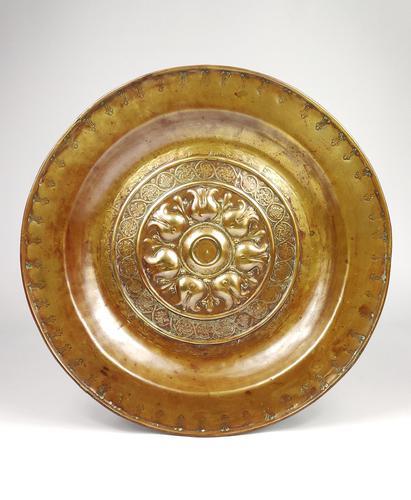 Large Mid 16th Century Nuremberg Alms Dish (1 of 3)