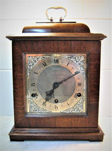 Outstanding 1952 English Westminster Chime Presentation Bracket Clock (1 of 9)