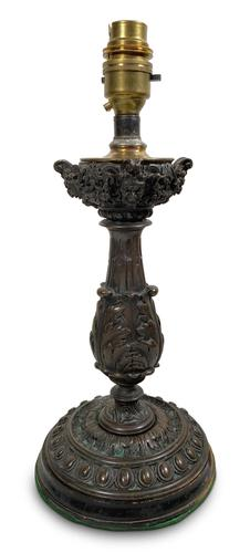 Bronze Table Lamp (1 of 3)