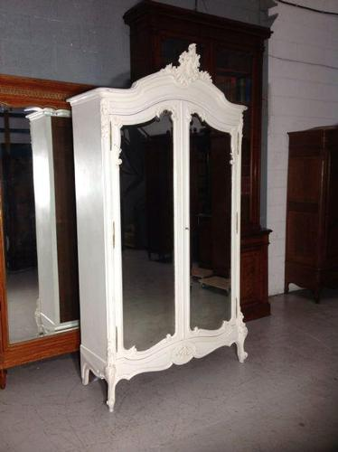 Stunning French Carved Armoire (1 of 9)