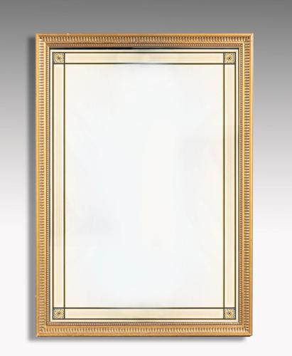 Early 20th Century Rectangular Giltwood Pier Mirror (1 of 4)