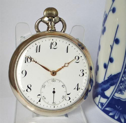 Antique 1910s Silver Pocket Watch by Revue Thommen (1 of 5)