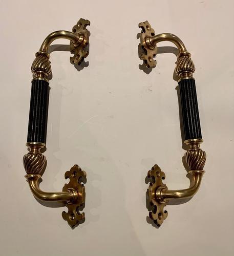 A Pair of Victorian Door Pulls (1 of 3)