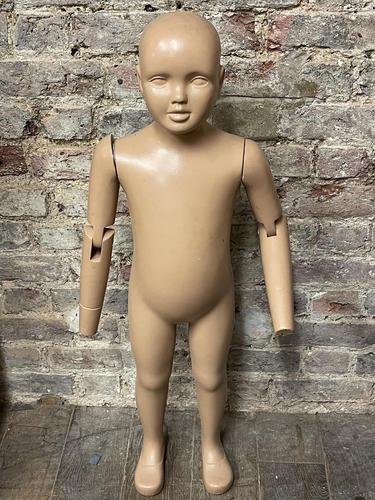 Vintage Small Child Mannequin (1 of 2)