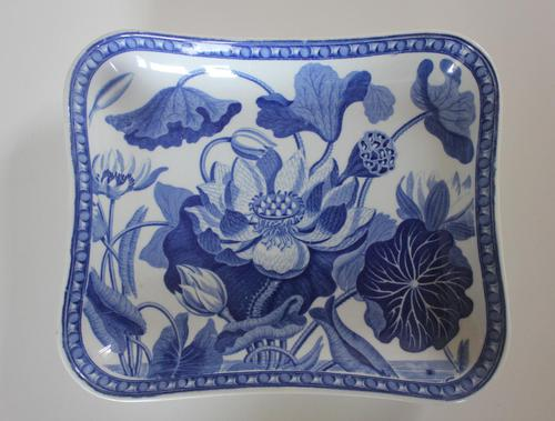 Antique Wedgwood Water Lily Rectangular Dish c.1810 (1 of 5)