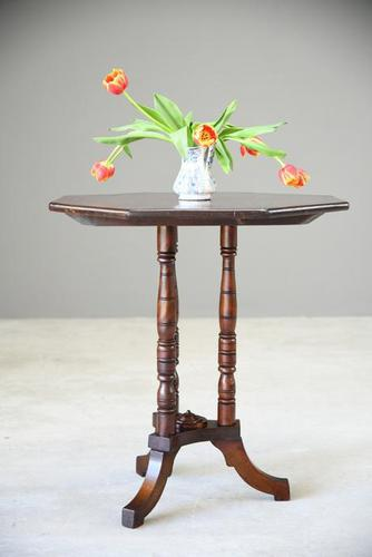 Edwardian Hexagonal Occasional Table (1 of 11)