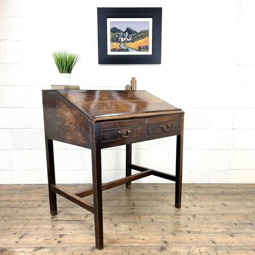 Antique Mahogany Clerk's Desk or Bureau (1 of 10)