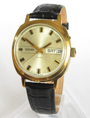 Gents 1970s Sekonda Wrist Watch (1 of 5)