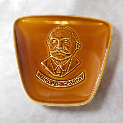 "Poole Pottery ""Thomas Hardy"" Plate (1 of 2)"