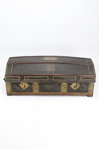 Antique Spanish Chest Dated 1832 for Restoration (1 of 17)