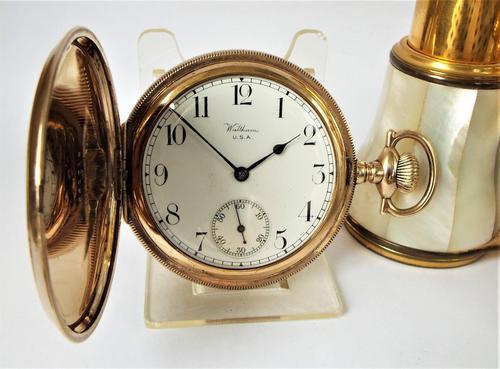 Waltham Full Hunter Pocket Watch, 1922 (1 of 6)