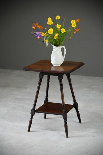 Late Victorian Two Tier Occasional Table (1 of 8)