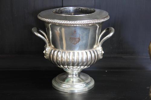 George III Sheffield Plate Wine Cooler (1 of 7)