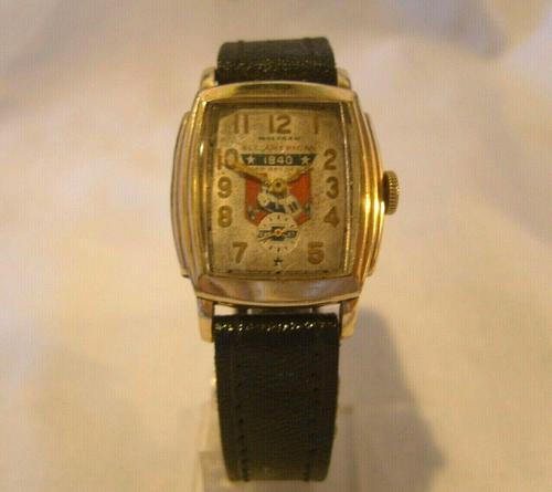 Wrist Watch 1938 Waltham 17j Chevy All American Soap Box Derby Winner (1 of 12)