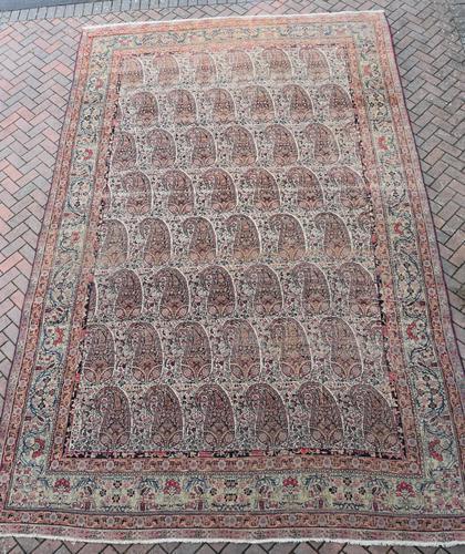 Antique Lavar Kirman Carpet 480x300cm (1 of 13)