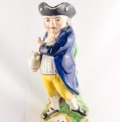 Antique Staffordshire Hearty Fellow Toby Jug (1 of 6)