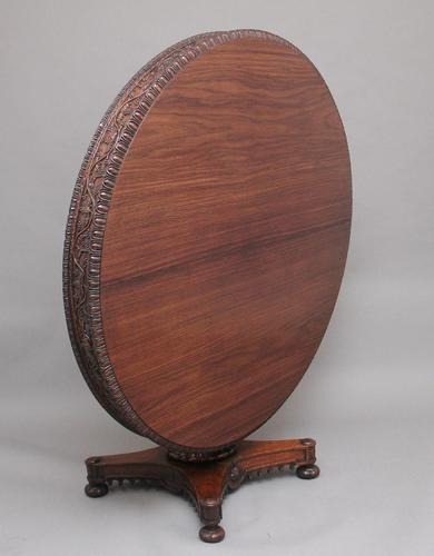 19th Century Anglo Indian Carved Centre Table (1 of 9)