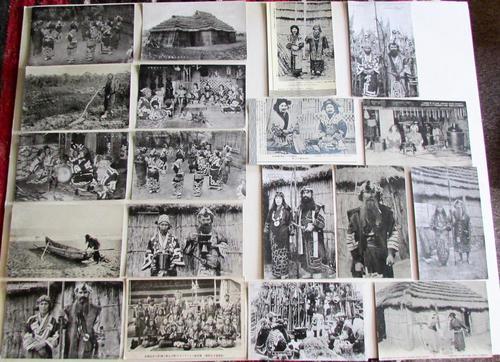 Large Collection of Ainu Hokkaido Japanese Postcards c.1900 (1 of 6)