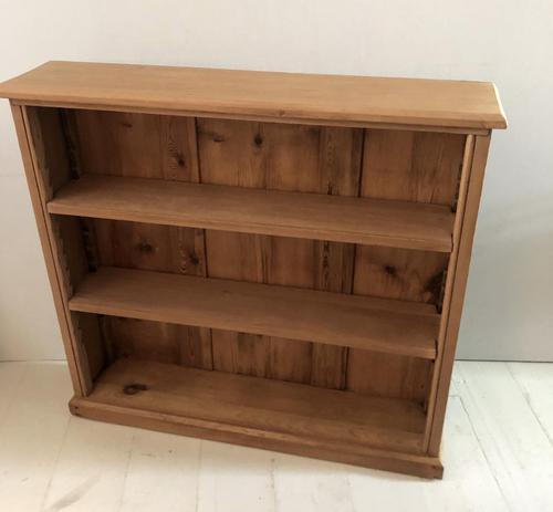 Small Late Victorian Pine Bookshelf (1 of 5)