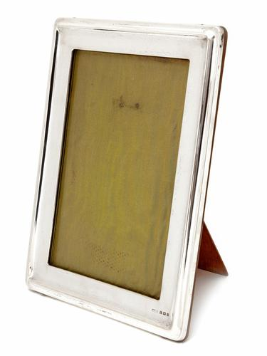 Edwardian Silver Asprey & Co Rectangular Frame (1 of 4)