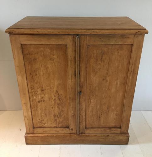 Rustic Two Door Pine Cupboard (1 of 6)