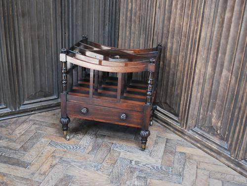 Rosewood Canterbury/ Magazine Rack by Holland & Sons (1 of 6)