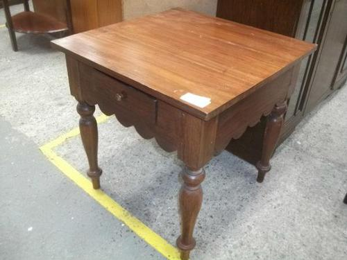 Square Side Table with Drawer (1 of 3)