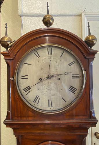 Early 19th Century Mahogany Longcase Clock by Ganthony of London (1 of 5)