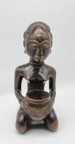 Antique Hand Carved  African Rare Luba Figure from the Congo (1 of 6)