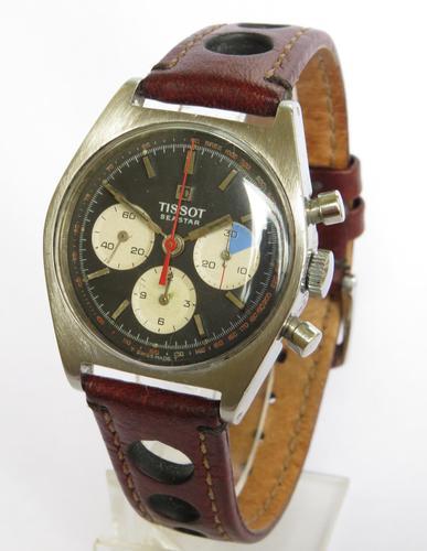 Gents 1970s Tissot Seastar Yachting Wrist Watch, Model 40.502 (1 of 6)