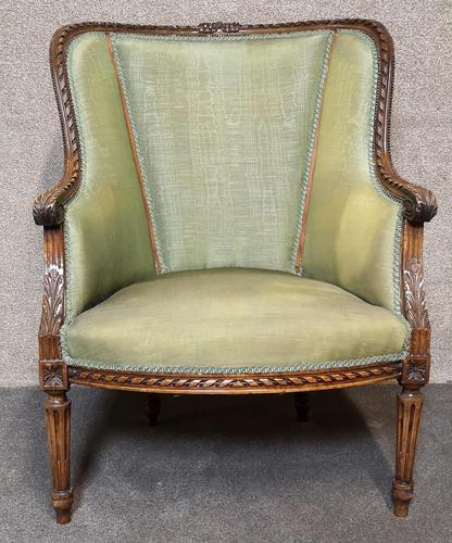 Carved Walnut French Armchair (1 of 11)