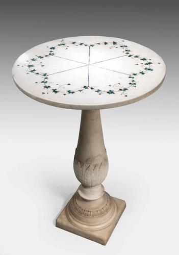 18th Century Carrara Marble Table (1 of 7)