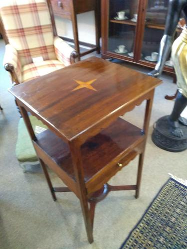 Georgian Bedside Table / Washstand (1 of 4)